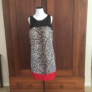 White House Black Market Dress Leopard Print 12